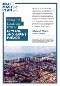 Geylang Marine Parade Masterplan 2019