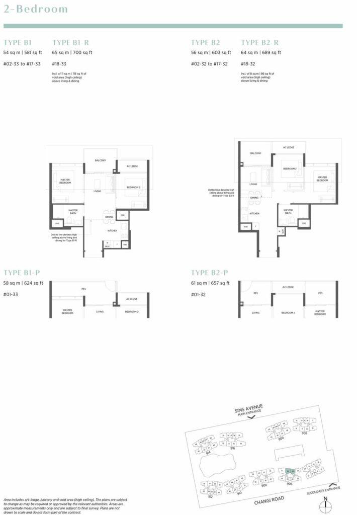 One Pearl Bank Floor Plan Choice Units 6100 7757