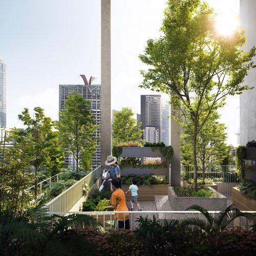 One Pearl Bank Sky Allotment Garden